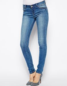 New Look Authentic Wash Skinny Jean