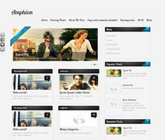 Free Magazine WordPress Themes 2013 – Best Free Magazine Style Themes     http://technozan.com/free-magazine-wordpress-themes-2013/
