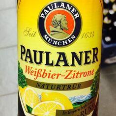 Paulaner - Weißbier Zitrone