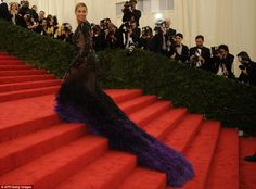 Bey KILLING the red carpet at the 2012 Met Gala