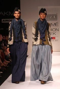 Sabyasachi Mukherjee Lakme Fashion Week india 2011