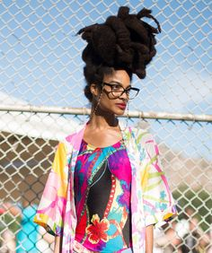 20 Endlessly Inspiring Looks From Afropunk #refinery29