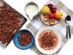 How to Make Homemade Healthier Coco Pops Brunch Recipes, Dessert Recipes, Cocoa Krispies, Puffed Rice, How To Make Homemade, Tray Bakes, Gluten Free Recipes, Free Food, Glutenfree