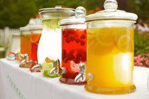 Brocche vari gusti per le drink station al matrimonio