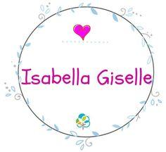 """Isabella es una variante de Elisabeth, que viene del hebreo Elisheba, que significa """"Dios es mi juramento"""". Sus cuatro sílabas evocan al romance italiano que ensalza la belleza: I-sa-bel-la… ¿Será por eso que es uno de los nombres favoritos para niñas? Vemos cómo combinan las mamás de los foros de BabyCenter este bello nombre. ¡Mira más! Nombres… Lee más » Baby Center, Baby Girl Names, Projects To Try, Baby Showers, Babys, Amor, Cute Baby Girl Names, Baby Wraps, Baby Announcements"""