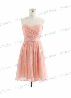 A Line Sweetheart Evening Dress, Prom Dress, Bridesmaid… - A Line Sweetheart Evening Dress, Prom Dress, Bridesmaid Dress, Short Dresses, Custom Made Dress