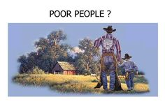"""One day, a father of a very wealthy family took his son on a trip to the country with the firm purpose of showing his son how poor people live. They spent a couple of days and nights on the farm of what would be considered a very poor family. On their return from their trip, the father asked his son, """"How was the trip?"""" """"It was great, Dad."""" """"Did you see how poor people live?"""" the father asked. """"Oh yeah,"""" said the son. """"So, tell me, what did you learn from the trip?"""" asked the father. The…"""
