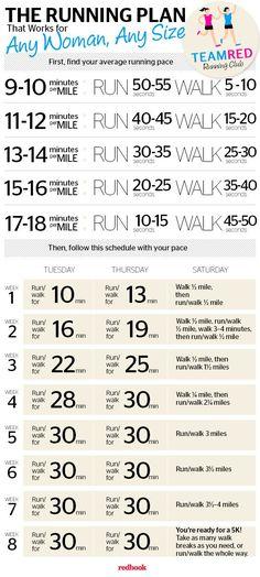 8 week running plan
