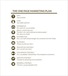 Marketing Plan Templates, 20+ formats, examples and complete guide