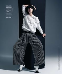 Ymre Stiekema by Ohnur for Harper's Bazaar Spain November 2014 - Inspiration by Color
