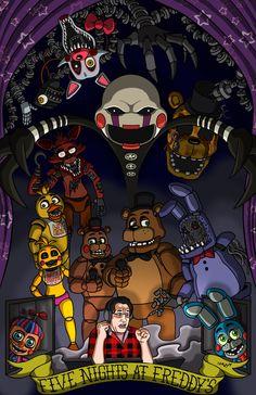 Five Nights At Freddy's (feat. MARKIPLIER) by Marshall-Arts-Comics.deviantart.com on @deviantART