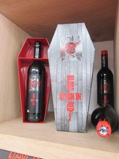 Slayer Coffin Empty Bottles, Liquor Bottles, Vodka Bottle, Wine And Liquor, Wine And Beer, Good Whiskey, Beer Brands, Hooch, Wine O Clock