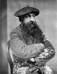 "Auguste Rodin...a French sculptor born into a working class family. Rodin began to draw at age 10. He was self-educated for the most part. He suffered many rejections of his early art attempts...just goes to prove...again...""If at first you don't succeed, try, try again""..."