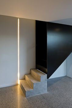 Odos Architects _ Morehampton Road _ Dublin _ 2016 _ Stairs on Amazing Stairs Ideas 1228 Staircase Handrail, Staircase Design, Interior Stairs, Interior And Exterior, Architecture Details, Interior Architecture, Stair Elevator, Internal Courtyard, Home Room Design