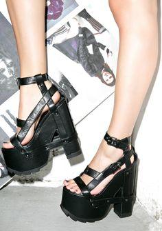 Y.R.U. Nightcall Platform Heels