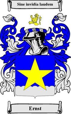 Ernst Family Crest