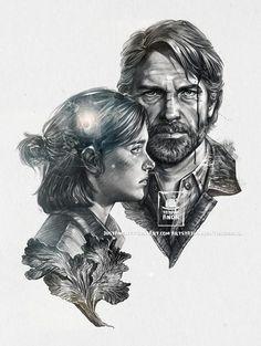 Joel And Ellie, The Last Of Us2, Online Art Gallery, Anime Art, Fan Art, Deviantart, Drawings, Instagram Posts, Artist