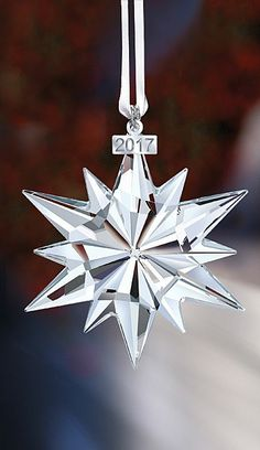 4218749ccd34 66 fascinating Swarovski - Annual Stars   Snowflakes images ...