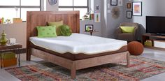 Live and Sleep Memory Foam Mattress (includes 1 free pillow) Foam Mattress, Memory Foam, Sleep, Mattresses, Pillows, Cool Stuff, Luxury, Bedroom, Live