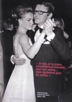 Romy et Harry dansant en 1965