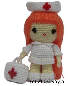 Smashwords – Nurse Jazzy Amigurumi Crochet Pattern - A book by Sayjai - page 2 free