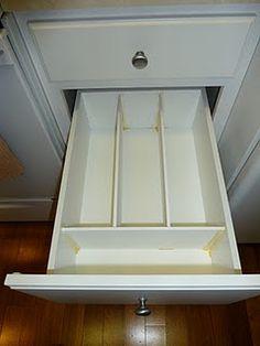 diy deep drawer dividers