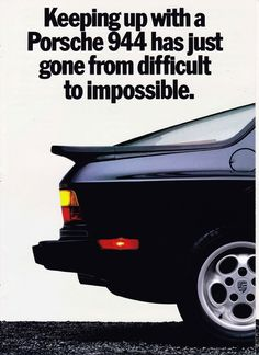 1985 PORSCHE 944 / 944 TURBO---I'd like a red one please!