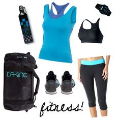 Fun, cute, and (most important)  COMFORTABLE, workout outfit!
