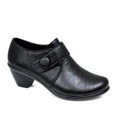 Look at this #zulilyfind! Black Jana Ankle Boot #zulilyfinds