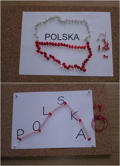 Piękna nasza Polska Cała Aga, 4 Kids, Kids And Parenting, Montessori, Poland, Diy And Crafts, Kindergarten, Projects To Try, Education