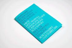 """""""Seminario residenziale di filosofia per giovani"""", #leaflet — hstudio"""
