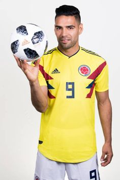 Radamel Falcao of Colombia poses for a portrait during the official FIFA World Cup 2018 portrait session at Kazan Ski Resort on June 13 2018 in Kazan. Fifa World Cup 2018, Club America, Poses, Soccer Players, Skiing, Polo Ralph Lauren, Football, Artsy Fartsy, Mens Tops