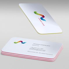 Business Card Energy Rounded