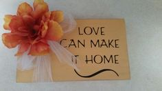Love can make it home