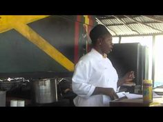 ▶ Authentic Jamaican Jerk Cooking 1/3 - YouTube