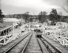 White City - Louisville, Ky Circa 1910   Community Post: 17 Vintage Thrill Rides Of Questionable Safety
