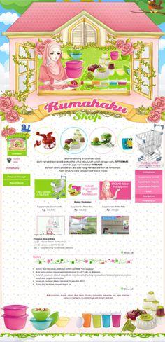 terpasang cantik desain web toko onlinewith... | let's design our tumblr