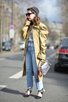 Street Style Paris Fashion Week Februar/März 2016 | POPSUGAR Deutschland Mode