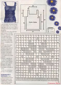 could try a different filet lace design with the same mesh, same tank top pattern; try something small, all over it, for a more delicate look Crochet Lace, Crochet Hooks, Knitting Patterns, Crochet Patterns, Lace Tape, Bruges Lace, Filet Crochet Charts, Fillet Crochet, Lace Design
