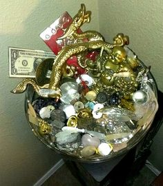 A wealth bowl by Jessica Kendrick of http://www.Jessicasjools.com
