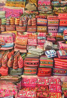 Bring home some colorful purses or wallets from one of the massive Chiang Mai, Thailand walking streets to carry a little bit of your travels with you!