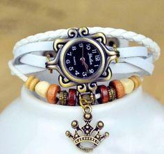 watch bracelet leather - Google Search