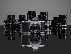 New Olympus OM-D E-M10 with MFT lens line up