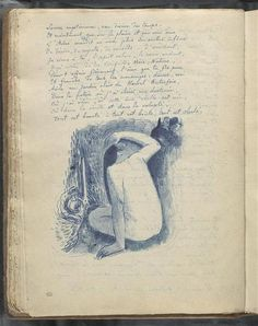 yama-bato:    Album Noa Noa: Notes manuscrites et femmesprès d'une cascade de  Paul Gauguin