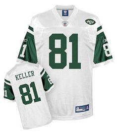 412d4b30d Team MIAMI DOLPHINS Reebok New York Jets Dustin Keller Replica White Jersey  Extra Large New York Jets CHAD PENNINGTON 10 NFL ...
