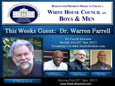 Proposal For A White House Council On Boys and Men - White House Radio