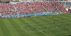 Spot yourself at the Toronto FC game
