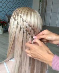 Hair bun, braid tutorials: Messy bun, French braid and more styles to try now. Braids For Kids, Girls Braids, Black Girl Braided Hairstyles, Girl Hairstyles, Braids For Black Hair, Hair Videos, Prom Hair, Hair Hacks, Hair Lengths