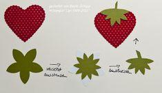 Stempel-trifft-Papier: Erdbeerzeit