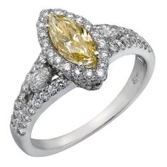 Canary marquise, my real dream diamond!